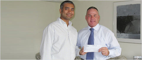 CheapOair Donation to Covenant House
