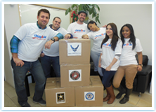 Fareportal Gives Back to the Troops!