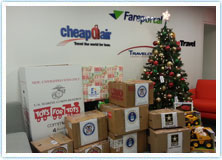CheapOair Gives Back During the Holiday Season