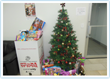 Holiday Season and Philanthropic Efforts in full swing in the NY offices